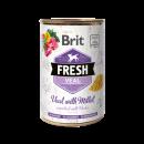 Brit Fresh blik Kalf/Gierst 400 gr.