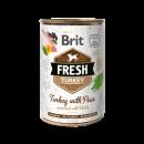 Brit Fresh blik Kalkoen/Erwt 400 gr.