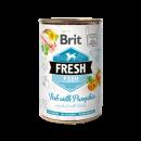 Brit Fresh blik Vis/Popmoen 400 gr.