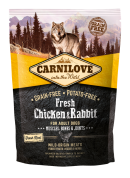 Carnilove Dog Fresh Chicken & Rabbit 1.5 kg.