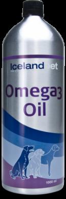 Icelandpet Omega 3 Olie 250 ml.