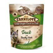 Carnilove Pouch Paté Duck/Timothy Grass 300 gr.