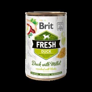 Brit Fresh blik Eend/Gierst 400 gr.