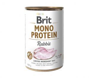 Brit blik mono protein Konijn 400 gr.