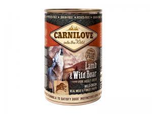 Carnilove blikvoeding Lam - Wild Zwijn