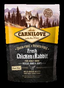 Carnilove Dog Fresh Chicken & Rabbit 1.5 kg.
