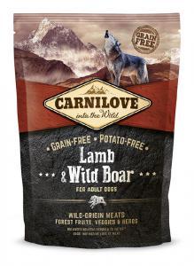 Carnilove dog Lamb & Wild Boar 1.5 kg.