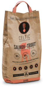 Celtic Connection Dog Salmon with Trout & Sweet Potato 1 kg